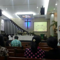 Photo taken at Gereja Kristen Indonesia (GKI) by Tumpal S. on 7/5/2015