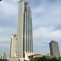 Photo taken at Cosmo Tower by Dennsyakun on 7/15/2017