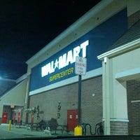 Photo taken at Walmart Supercenter by Aaron on 10/21/2012