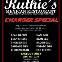 Photo taken at Ruthie's Mexican Restaurant by Ruthie's Mexican R. on 10/26/2015