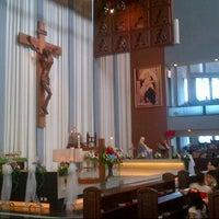 Photo taken at Gereja Katolik Regina Caeli by Pohan on 10/28/2012