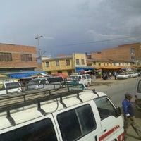 Photo taken at Patacamaya by Maria E. on 12/30/2013