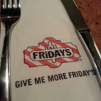 Photo taken at T.G.I. Friday's by Mac M. on 3/29/2013