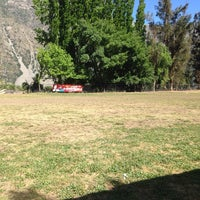Photo taken at Cancha La Victoria San Jose De Maipo by Hermann H. on 10/26/2013