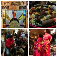 Photo taken at Yod Abyssinia Cultural Restaurant by Rob S. on 3/19/2013