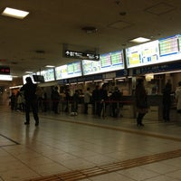 Photo taken at Nishitetsu Tenjin Expressway Bus Terminal by Hammer Y. on 11/30/2012