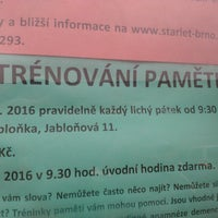 Photo taken at Společenské centrum Sýpka by Jan B. on 10/20/2016