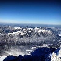 Photo taken at Zugspitze (2962m) by Daryn on 1/26/2013
