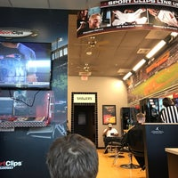Photo taken at Sport Clips Haircuts of Falls Church - Seven Corners by Michelle O. on 2/20/2017