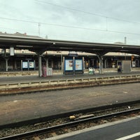 Photo taken at Bahnhof Offenburg by Christine H. on 1/27/2013