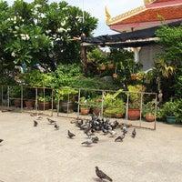 Photo taken at Wat Thongnai by Posswii on 6/19/2014