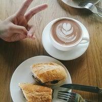 Photo taken at Three Little Birds Coffee by tmeiyii on 8/6/2014