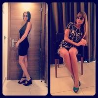 Photo taken at Aqua Hotel Rimini by Natasha F. on 6/10/2013