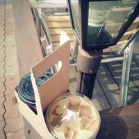 Photo taken at Coffee Mario by eun on 3/16/2013