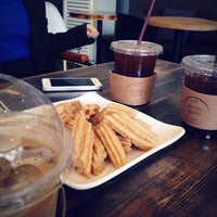 Photo taken at crew coffee by eun on 4/15/2015