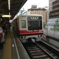 Photo taken at Esaka Station (M11) by Tetsuya K. on 5/30/2013