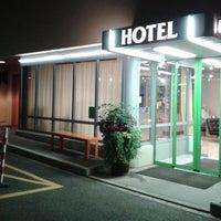 Photo taken at Hotel Waldhorn by Jasminika on 8/12/2017