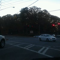 Photo taken at Glenridge Dr & Hammond Dr by Myra C. on 11/9/2012