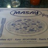 Photo taken at Masay Pizza & Sandwich by Amalia C. on 11/18/2012