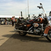 Photo taken at Harley-Davidson Capital Brussels by Andi on 9/28/2014