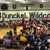 Photo taken at Dunckel Middle School by Dave N. on 2/13/2013