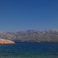 Photo taken at Plaža pored Vinjerca by Damir C. on 7/27/2013