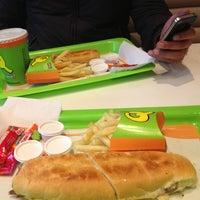 Photo taken at Sandwich Qbano Pepe Sierra by Julian on 11/14/2012