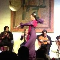 Photo taken at El Tablao de Carmen by Tony L. on 11/18/2012