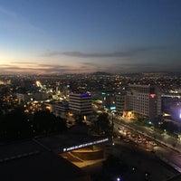 Photo taken at Hotel & Plaza Stadium by Laura on 12/3/2017