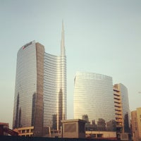 Photo taken at Unicredit Tower by Francesco N. on 4/16/2013