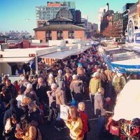 Photo taken at Hamburger Fischmarkt by Rolf B. on 10/28/2012