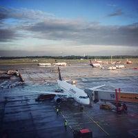 Photo taken at Hamburg Airport Helmut Schmidt (HAM) by Rolf B. on 6/27/2013