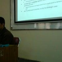 Photo taken at Jurusan Teknik Elektro dan Teknologi Informasi UGM by Fauzan B. on 3/17/2014