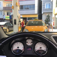 Photo taken at Shell by Levent on 10/2/2016