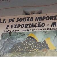 Photo taken at Shallom Aquário by Amanda F. on 1/31/2015