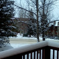 Photo taken at Pine Ridge Condominiums Breckenridge by Krystel C. on 12/26/2012