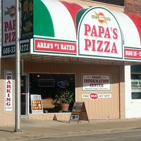 Photo taken at Papa's Pizza by Erin J. on 8/10/2013