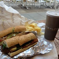 Photo taken at Taylor Gourmet by Yejin on 12/8/2012
