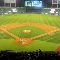 Photo taken at Jamsil Baseball Stadium by Gyeonghwan M. on 6/13/2013