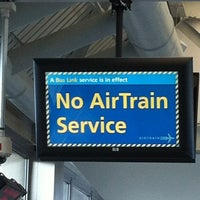 Photo taken at JFK AirTrain - Federal Circle Station by Tony P. on 11/3/2012