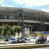 Photo taken at Stadio San Paolo by Pasquale A. on 10/17/2012