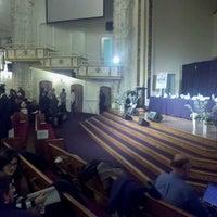 Photo taken at First Corinthian Baptist Church by Stephon J. on 2/28/2013