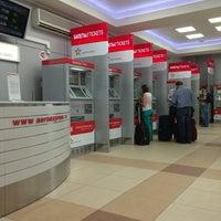 Photo taken at Aeroexpress Terminal at Belorusski Railway Station by Александр on 6/2/2013