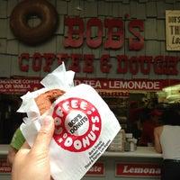 Photo taken at Bob's Coffee & Doughnuts by Ryan B. on 8/25/2013