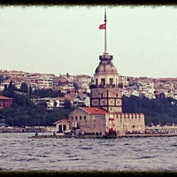 Photo taken at Maiden's Tower by İsmail Baki on 6/30/2013