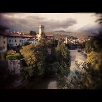 Photo taken at Ponte del Diavolo by Olessia B. on 9/25/2012