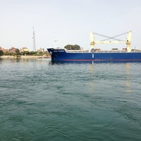 Photo taken at Suez Canal by Ahmed A. on 5/20/2014