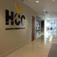 Photo taken at HCC Southeast College Felix Fraga Campus by Sherri E. on 2/13/2013