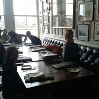 Photo taken at Trafalgar Tavern by Valerio G. on 6/28/2013