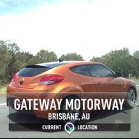 Photo taken at Gateway Motorway by Reza A. on 12/25/2013